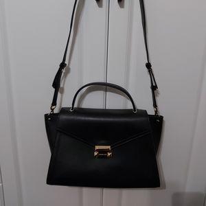 Michael Kors Whitney large leather satchel